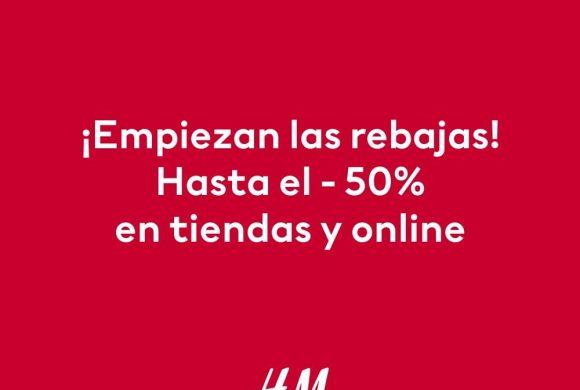 ¡Empiezan las rebajas en H&M!