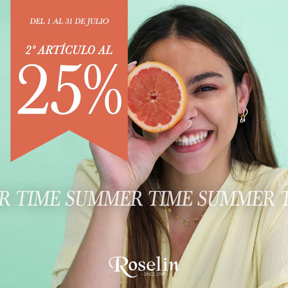 2º ARTÍCULO AL 25% EN ROSELIN